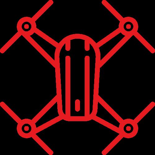 Utilisation de drones
